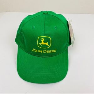 NWT John Deere Classic Trucker Snap Back Hat
